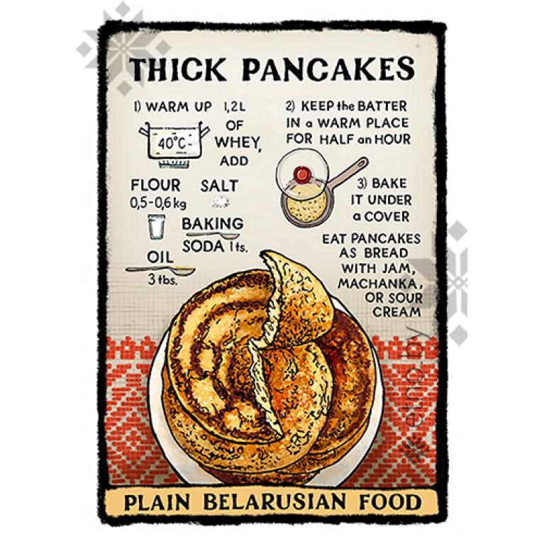 "Магнит ""Thick pancakes"" | #byetno"