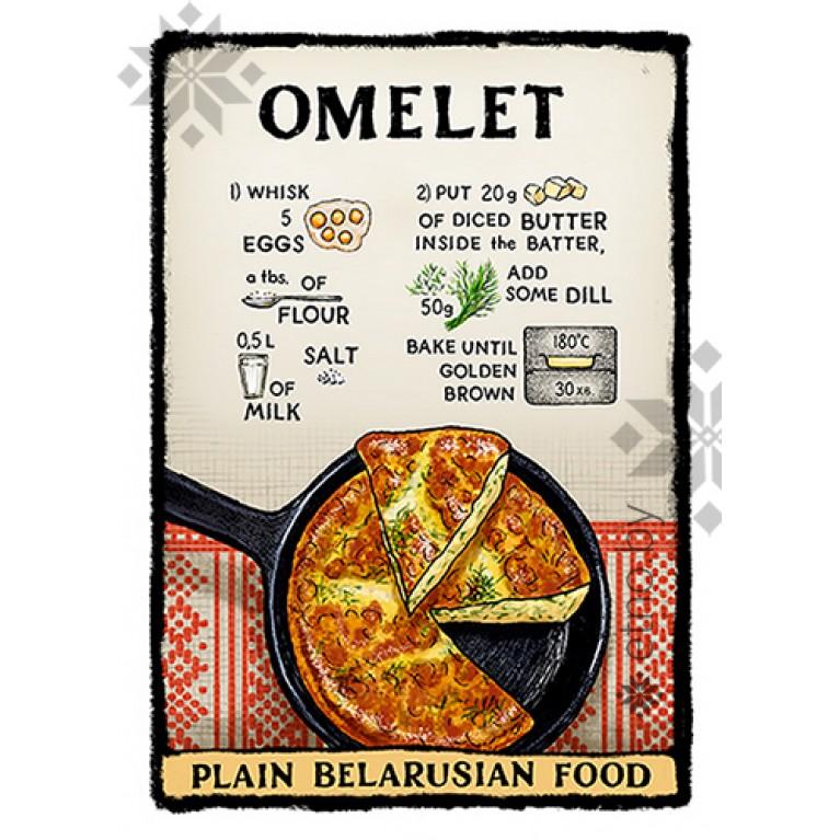 "Магнит ""Omelet"" | #byetno"