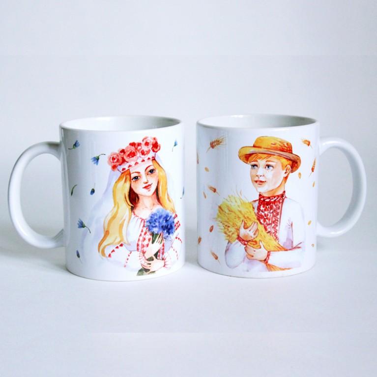 Чайная пара «Беларусы»