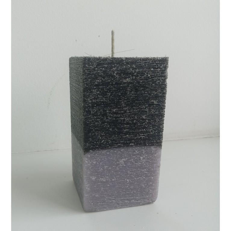 Свеча «Квадратная» двухцветная