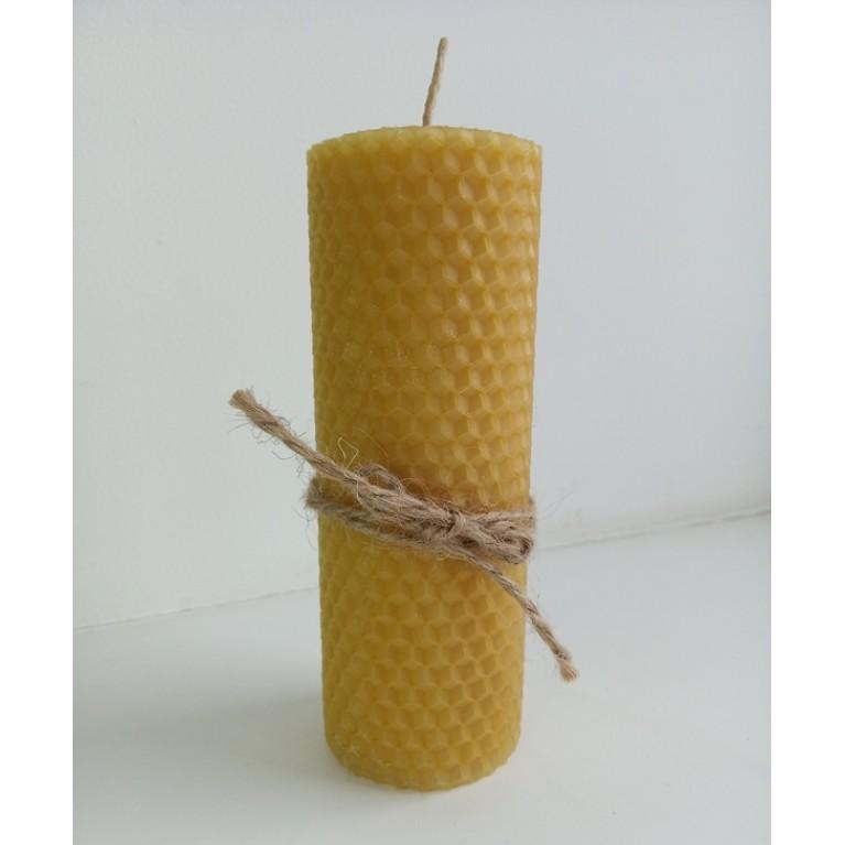 Свеча «Столбик» натуральная