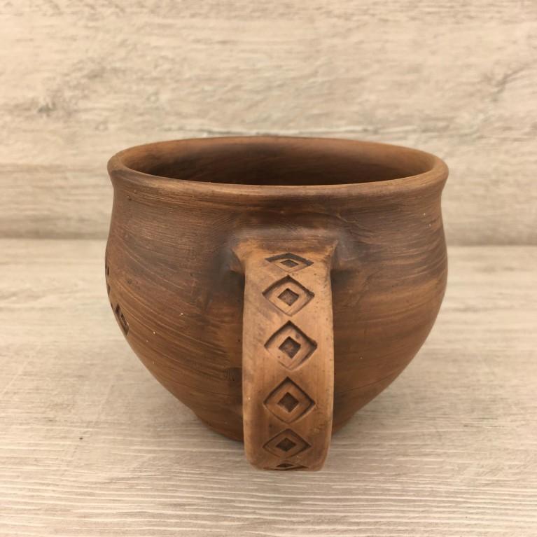 Кружка глиняная | #byetno